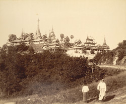 The Uzina Pagoda [Moulmein]